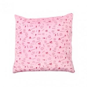 Mintás párna, rózsaszín